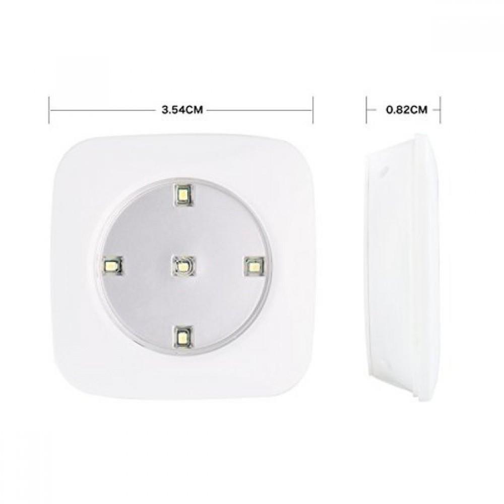 Комплект 3бр. LED лампи с дистанционно - Super цена