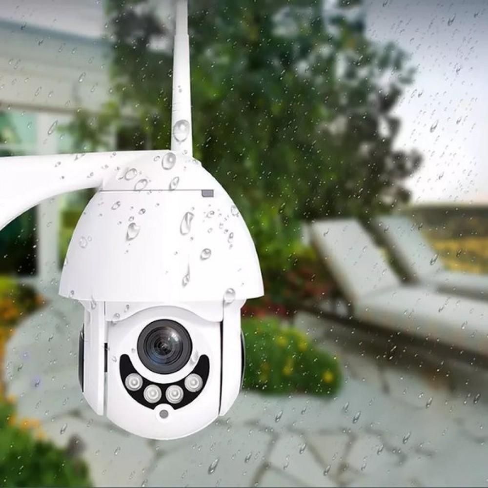 Куполна камера за външен монтаж 011 Full HD, WI-FI - Super цена