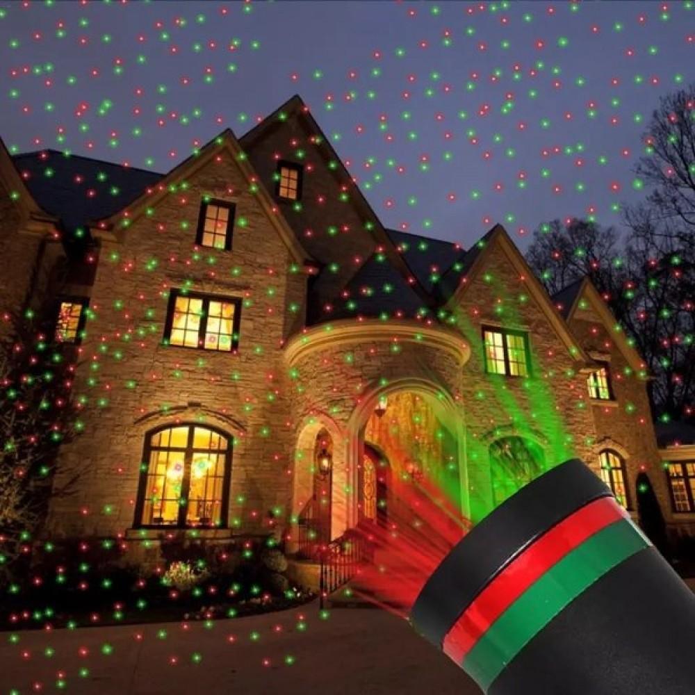 Лазерен прожектор за коледна украса Star Shower - Super цена