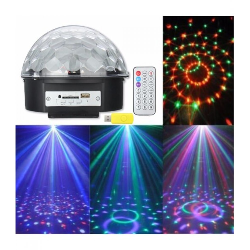 Музикална диско топка с блутот - Super цена