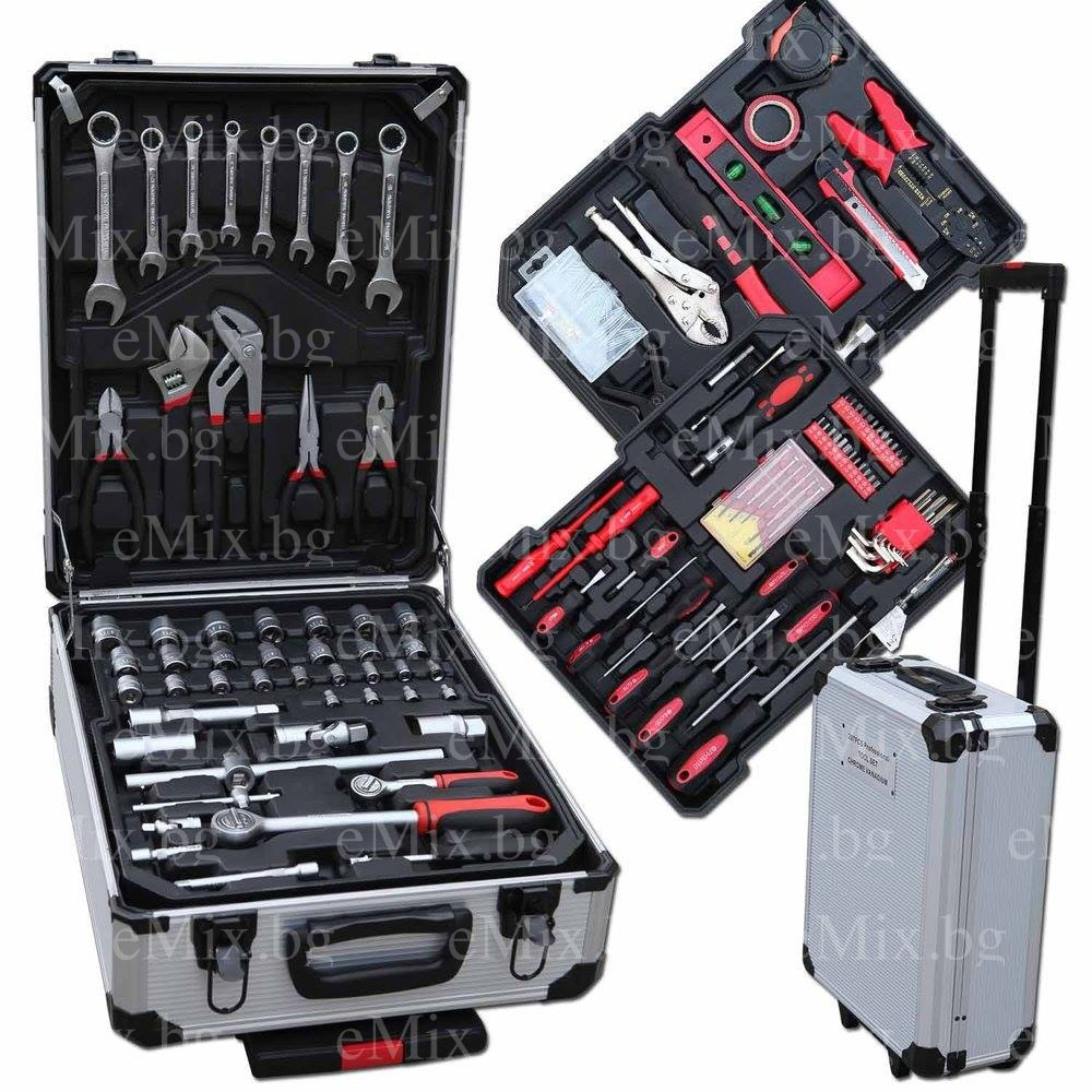Куфар с инструменти WMC - 186 части - Super цена
