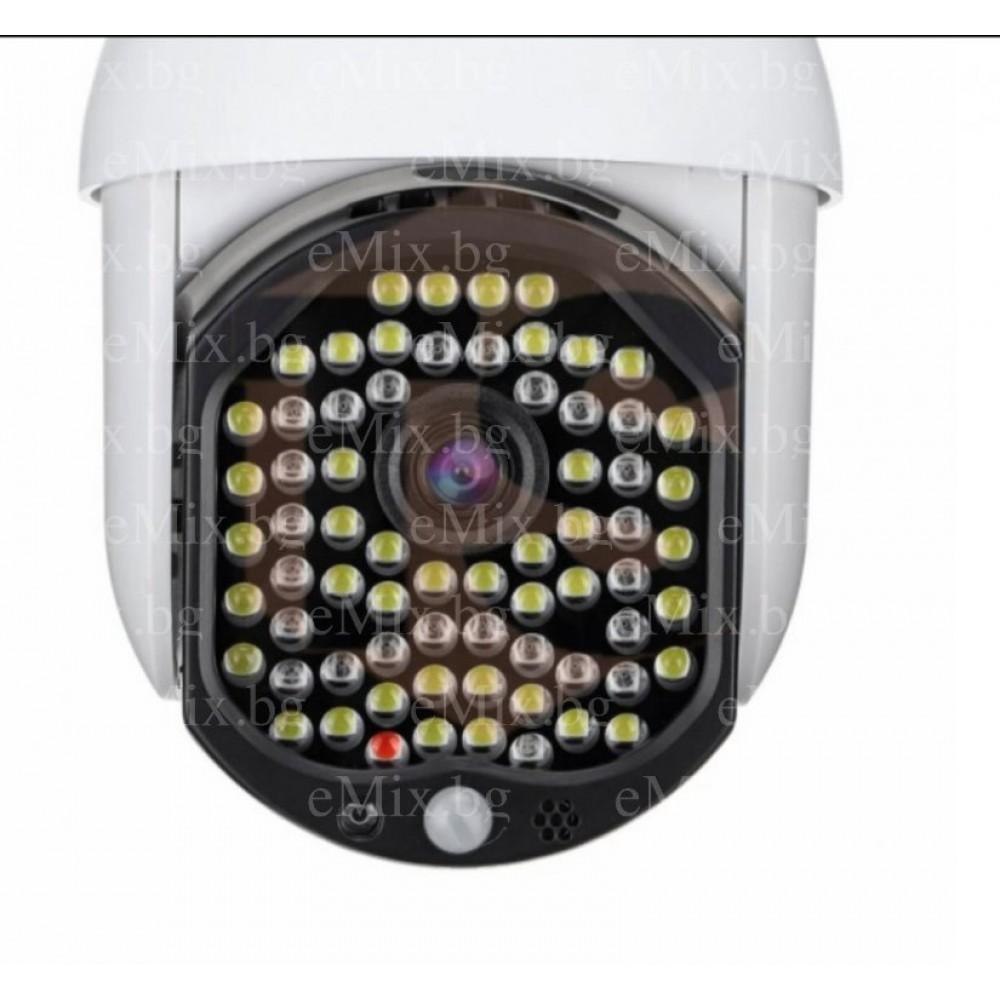 68 Led Full HD въртяща камера с Motion Tracking - Super цена