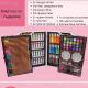 Комплект за рисуване  145 части, куфар - Super цена