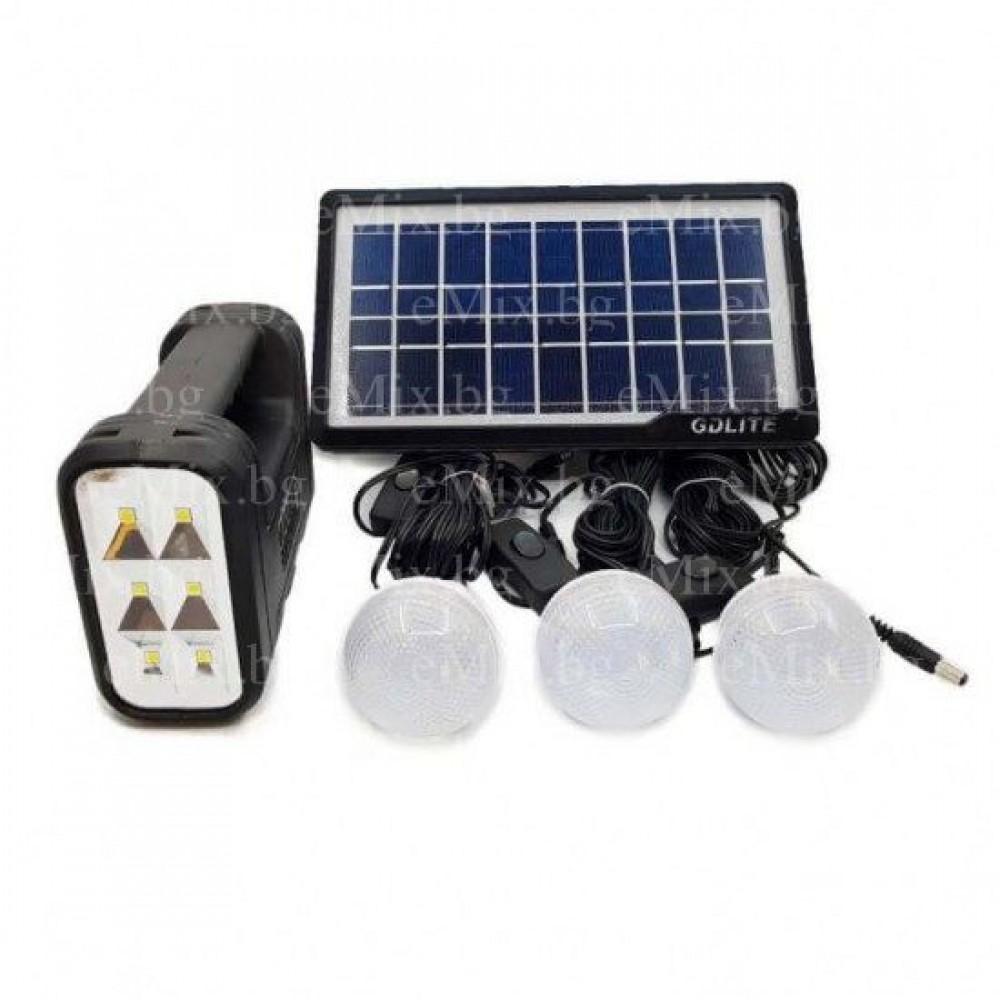 Соларна система + 4 местна палатка - Super цена