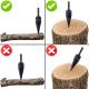 Конус за цепене на дърва за перфоратор - Super цена
